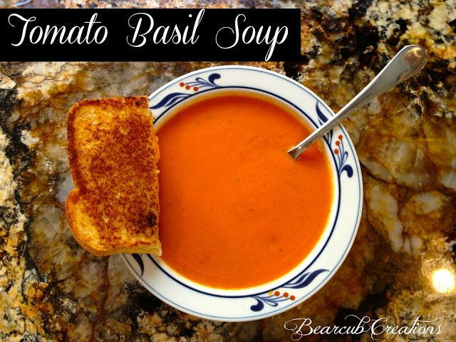 Bearcub Creations: Copy-cat Nordstrom's Tomato Basil Soup