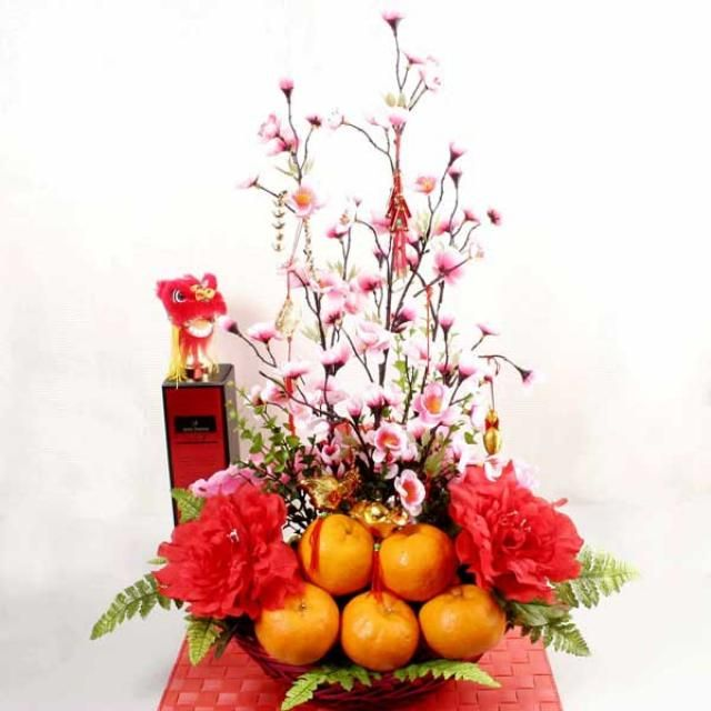 chinese new year flower decorations - Google Search