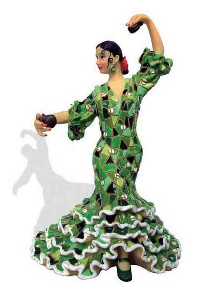 Google Image Result for http://www.flamencoexport.com/photo/productos%262Fregalos%262Fbailaora10931/443x600/Flamenca-with-mosaic-costume.-Barcino.-Green.jpg