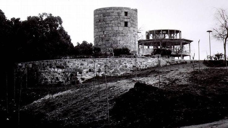 Antiguo molino de viento del Parque de Santa Margarita