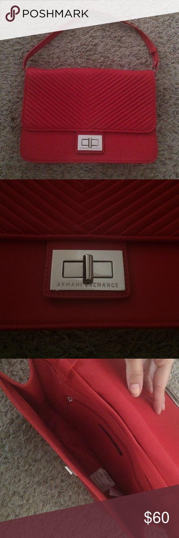 Armani exchange handbag Armani exchange red handbag Armani Exchange Bags Shoulder Bags