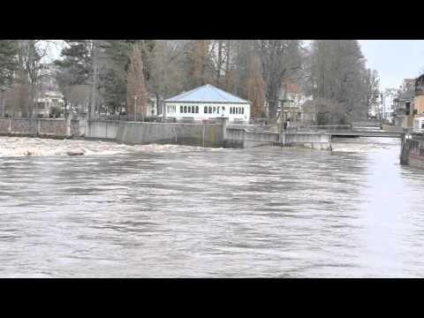 Hochwasser in Bad Kreuznach - YouTube