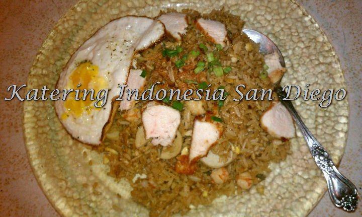 Nasi Goreng Kecap Manis/ Sweet Soy Sauce Fried Rice.