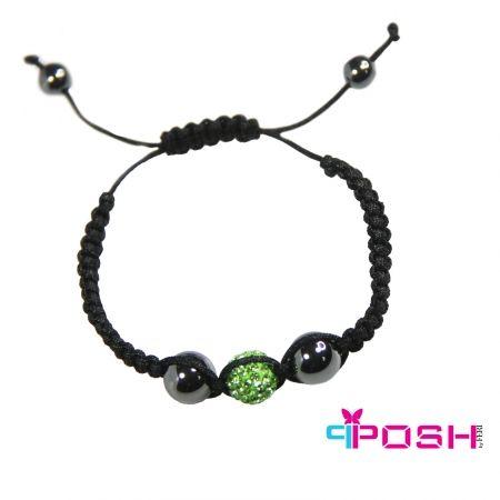 Shamballa Green - Bracelet