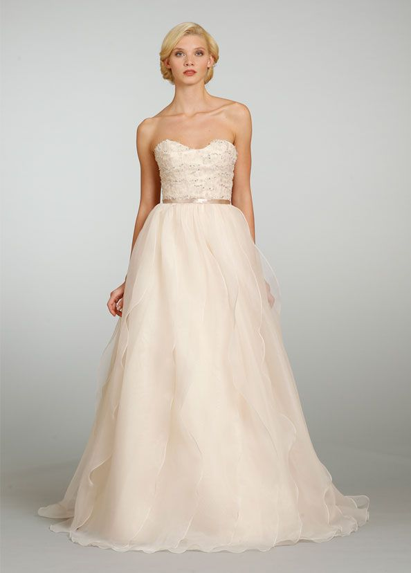 Jim Hjelm Style jh8319 peach color