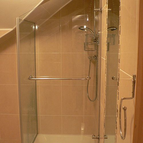 Spring Showers Bring Wet Basements: Shower Under The Stairs - Google Search