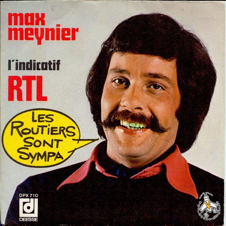 """Max Meynier  animait sur RTL l'émission très populaire """"Les routiers sont sympas"""""""