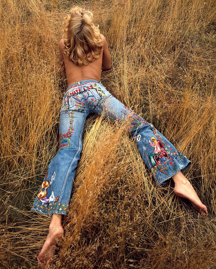 Embroidered Denim Is the New Monogram – Vogue