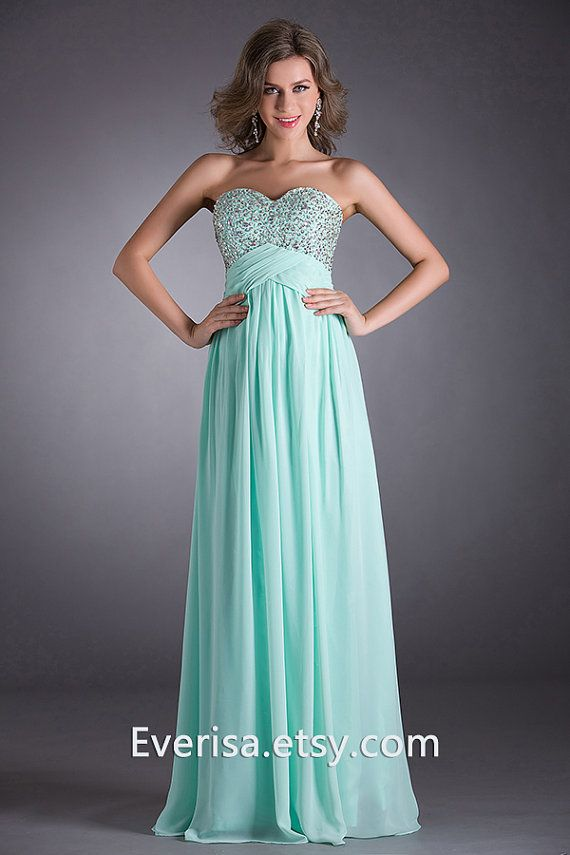 Prom Dress / Bridesmaid Dresses / Long Formal Dress/ by Everisa, $65.00