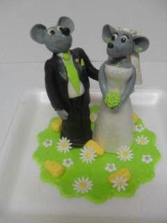 Muis bruidspaar