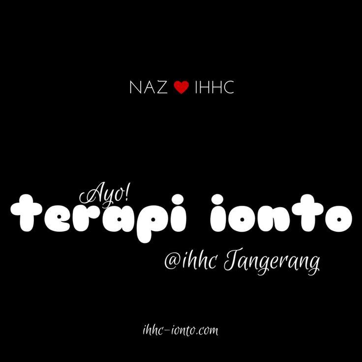 Tarif Terapi Ionto @ IHHC Tangerang