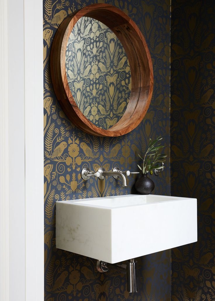 Idea to Steal: Powder Rooms Squared