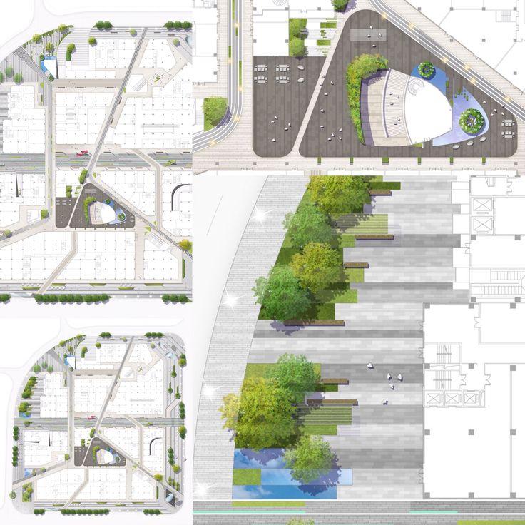 Landscape design (Shenzhen Baoan)   ( m_oplado 2015/ metrostudio)