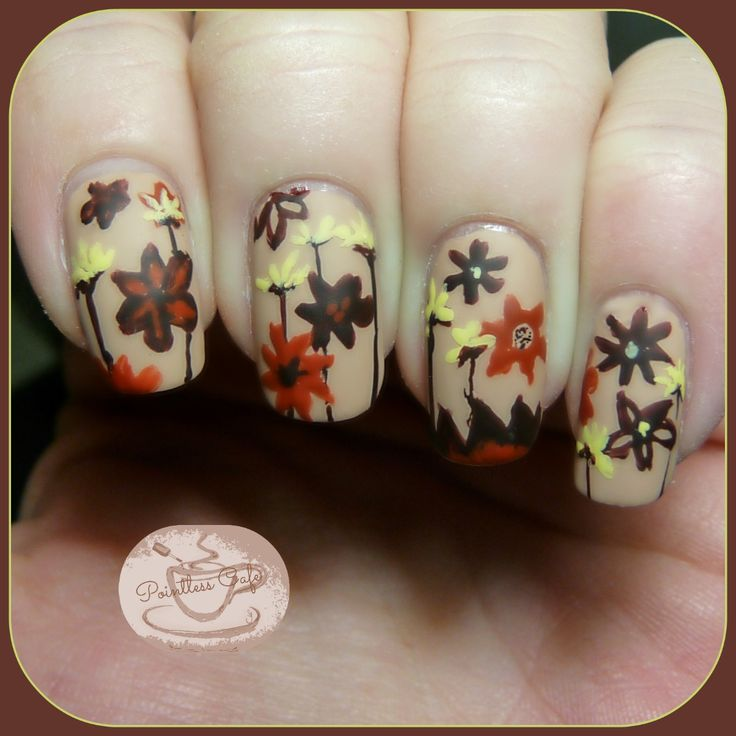 The Digit-al Dozen Does Florals: Day 4 - Autumnal Flowers | Pointless Cafe