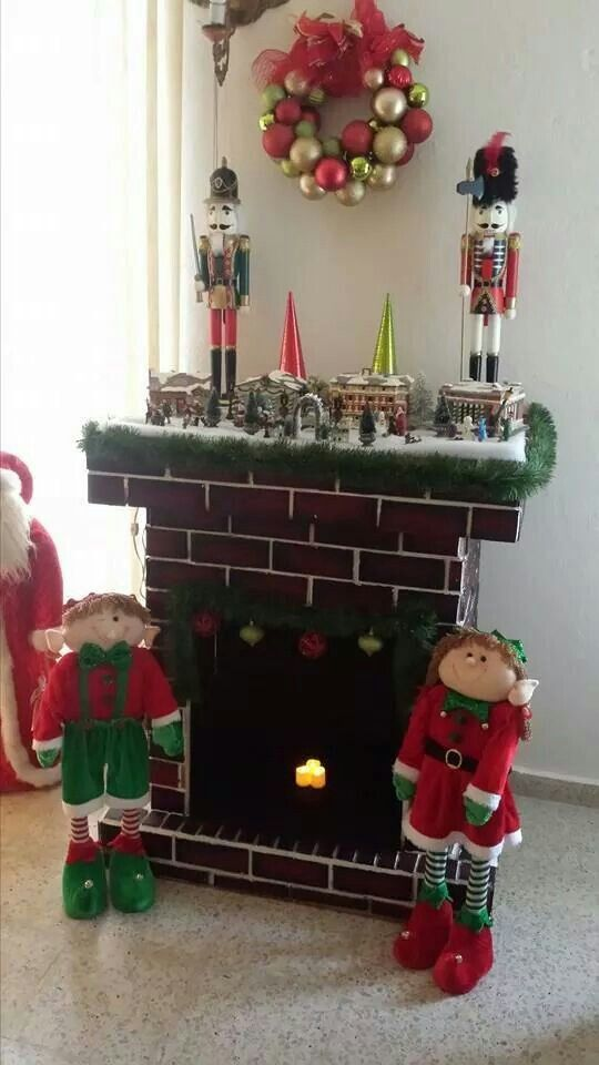 25 unique chimenea de carton navidad ideas on pinterest - Chimenea de decoracion ...