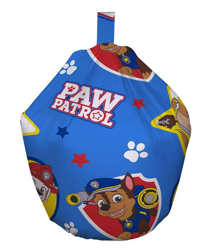 This childrens bean bag is an officialy licenced PAW patrol bean bag. The design is taken from the very popular Paw Patrol TV series on Nickelodeon. it features a print of plucky pups Rubble, Chase and Marshall, alongside a selection of their bones and rescue equipment. This Bean Bag Fast & Free Shipping Within The UK!!