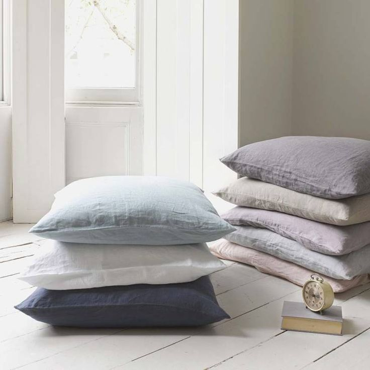 How to upgrade your home on a budget? Find a few easy examples in the article, like these lush pillows by Loaf.