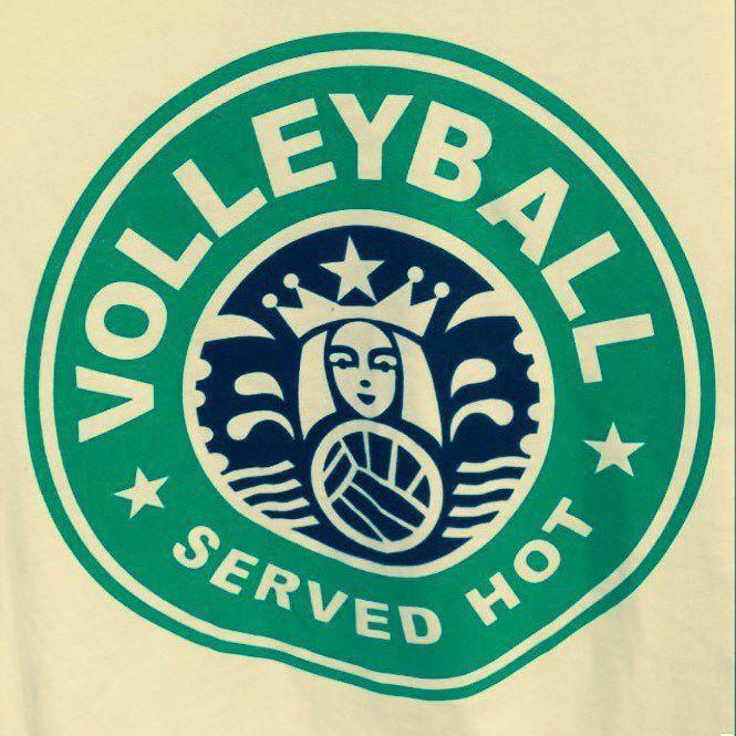 #volleyball #starbuckscoffee #wewantit