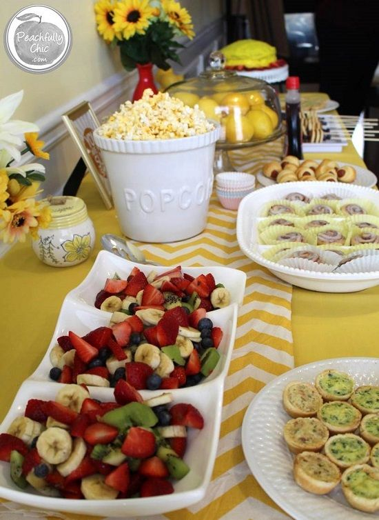 All The Decor Inspiration And Food Ideas To Host Perfect You Are My Sunshine Baby Shower Themed Party