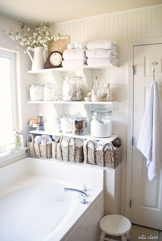 Home Decor Stores Near Me Cheap Vintage Shabby Chic Shower Curtain Below Vintage Shabby Chic Logo Lit Shabby Chic Bathroom Chic Bathrooms Diy Bathroom Storage Bathroom decor stores near me