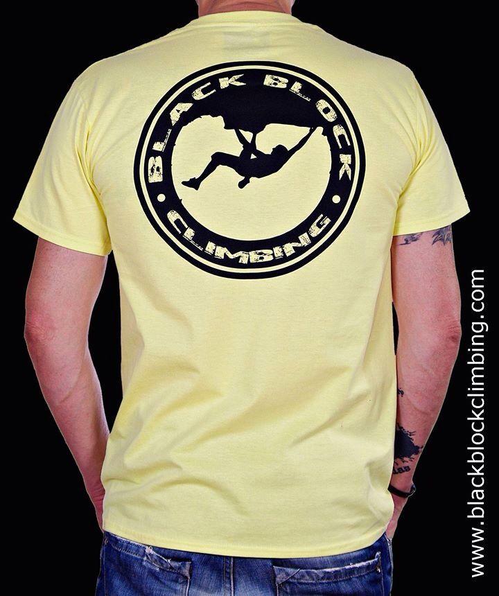 Camiseta 'Stamp' www.blackblockclimbing.com | T-Shirts for Climbing Life