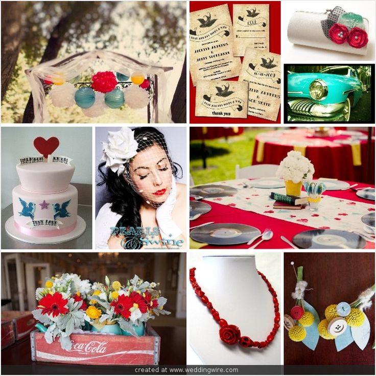 Rockabilly Wedding Ideas: 17 Best Images About Pin Up/Rockabilly Wedding On