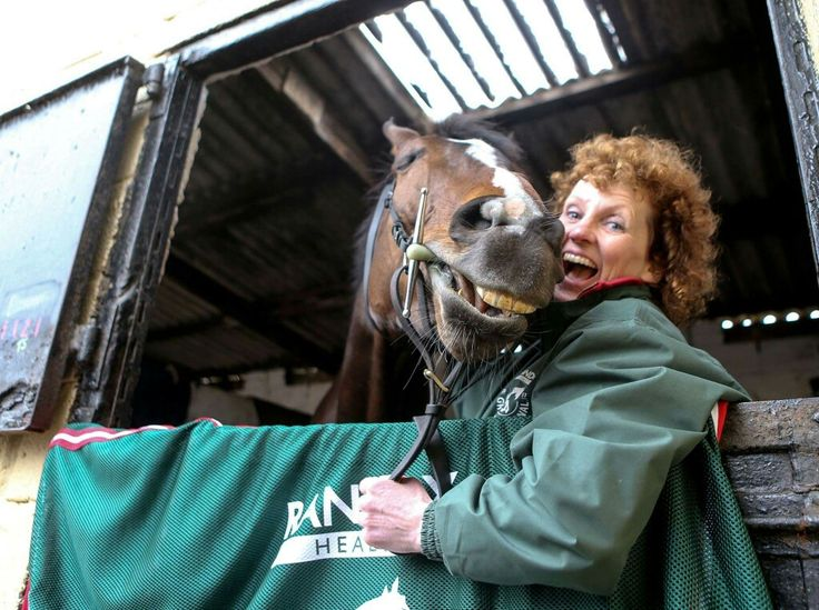 One For Arthur and his trainer Lucinda Russell