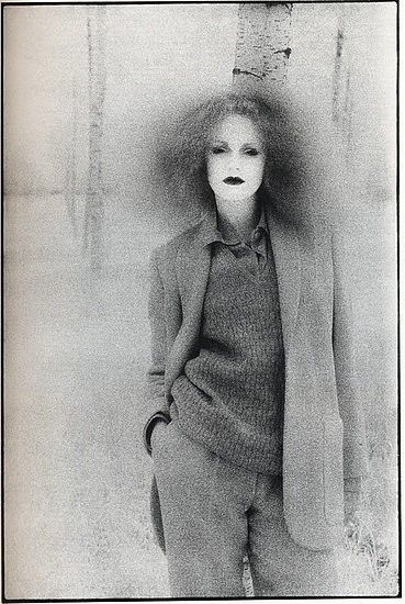 Pre-Raphaelite Portrait. Grace Coddington by David Bailey, 1970s….Fashions from the time of my memoir, Corpses Rarely Wander: How I Became a Loveless, Trailer Park Nomad http://amzn.to/M2eix0