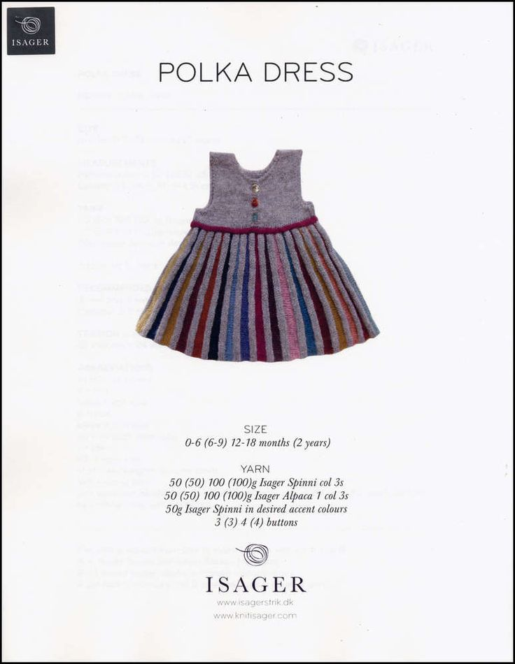 200 best knitted baby dress images on Pinterest | Knitting patterns ...
