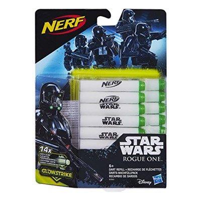Chollo en Amazon España: Recambio de dardos Nerf Star Wars Rogue One por solo 7,24€ (un 49% de descuento sobre el precio de venta recomendado y precio mínimo histórico)