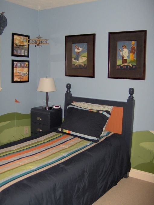 The 32 best images about Golf Boys Bedroom ideas on Pinterest ...