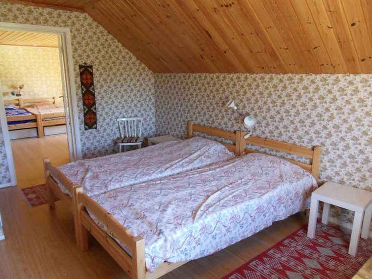 Gula Huset. Grosses Haus mit schöner Aussicht über den See Åsnen, Småland, Schweden