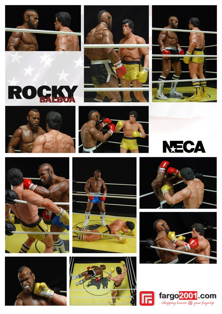 """Life is not about how hard of a hit you can give. it's about how many you can take and still keep moving forward"""" - Rocky Balboa http://fargo2001.com/hobi-amp-koleksi-312/action-figures-96/neca-152/neca-rocky-iii-rocky-balboa-1107.html"""