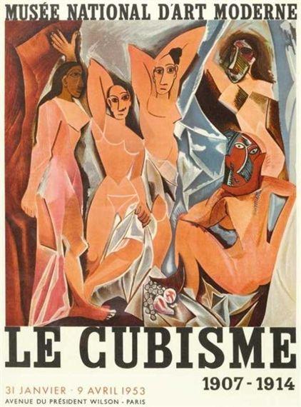 Pablo Picasso, Affiche Le cubisme, 1907