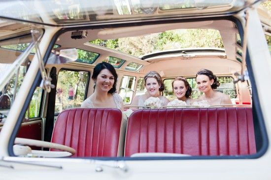 Sally and Andrew Vintage Style Noosa Wedding On The Beach #Kombi