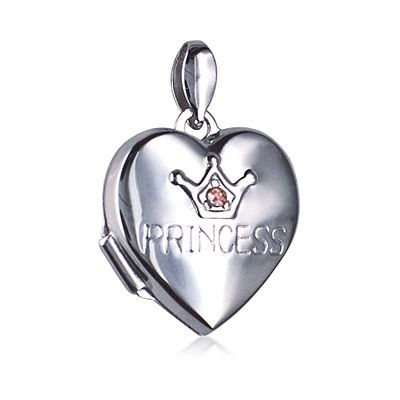 Locket - PRINCESS - Sterling Silver