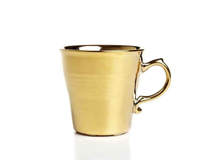 gold mugs, love!: Tea Time, Furniture Products, Style, List Products, Gold Mugs, Products Gifts, Gold Coffee, Coffee Mugs, Accent Wall