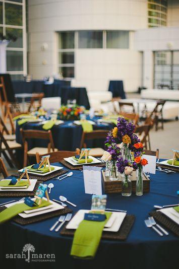Crocker Art Museum Wedding Photos - colbolt blue wedding - Sarah Maren Photographers