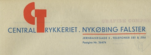A Rare Book of Danish Letterhead Samples