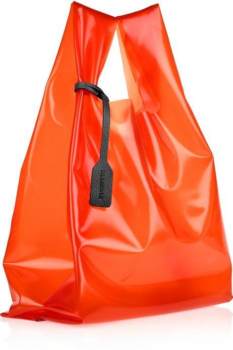 Jil Sander market acetate bag