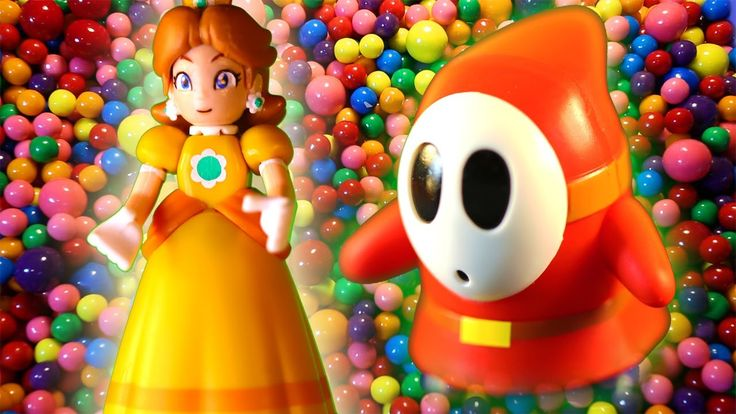 Super Mario Brothers Surprise Toys or Eggs blind bags of princess peach, shy guy and dry bones.