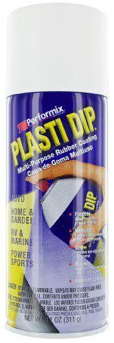 Performix 11207 Plasti Dip White Multi-Purpose Rubber Coating Aerosol - 11 oz.