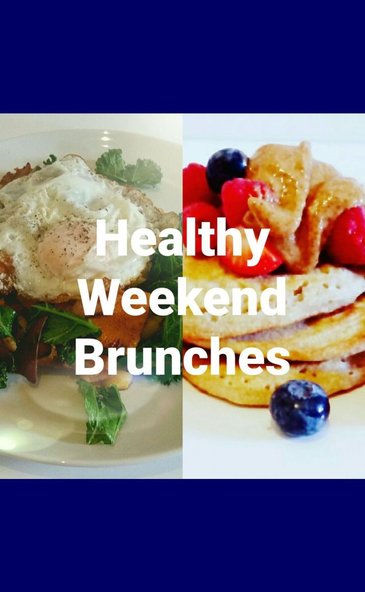 2 Healthy Weekend Brunches + Shopping List: Don't fall off the healthy eating wagon this weekend.  You can still enjoy delicious food whilst maintaining your nutrition