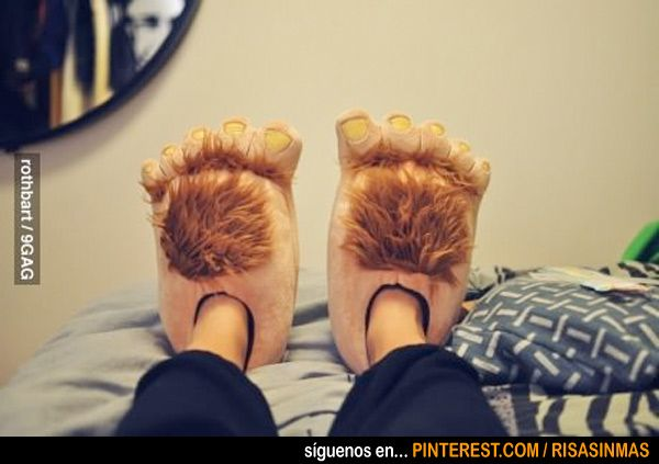 Zapatillas de Hobbit. ¿A que las quieres tener?