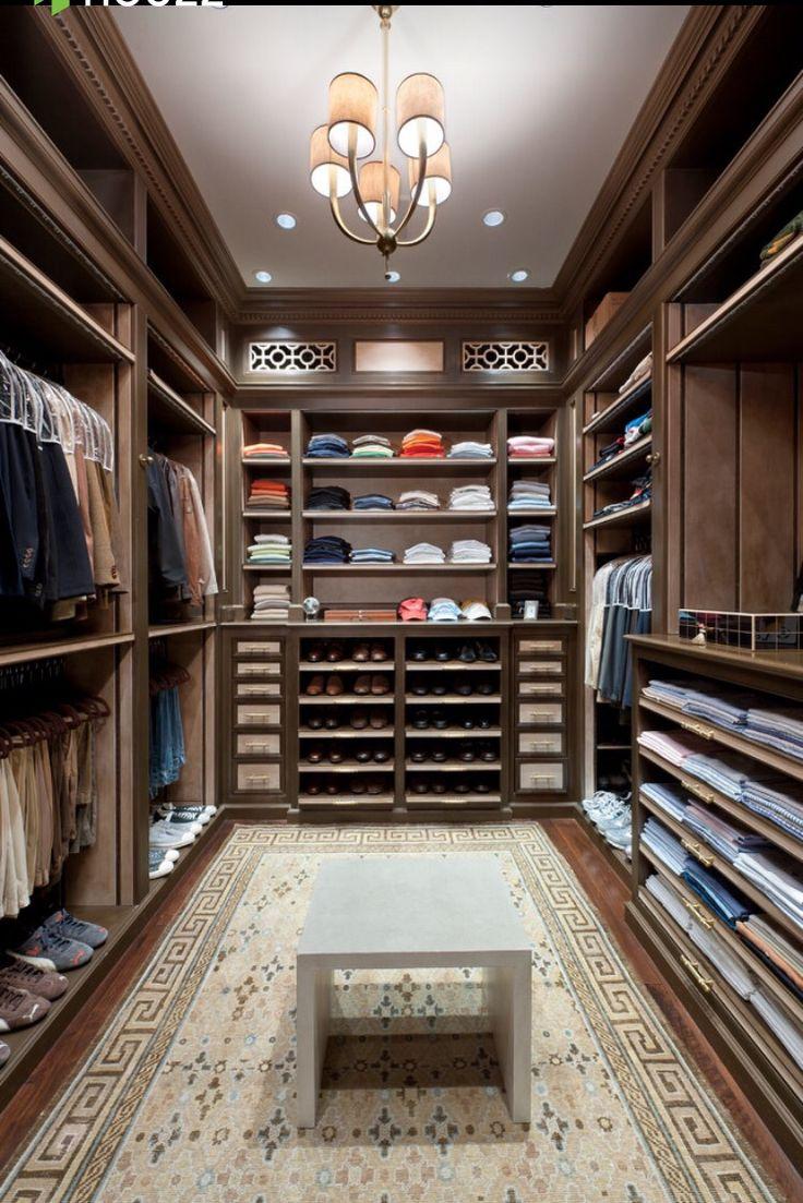 160 Best Closet Images On Pinterest Master Closet Walk In .