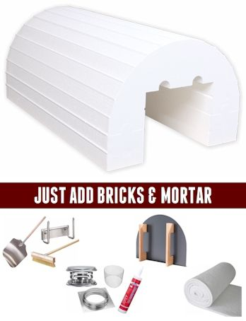 Ready to Build the Best Wood Fired Brick Pizza Oven in your Backyard?  Our Barile Package 4 includes everything you need to be the Master of the Wood Fired Oven!