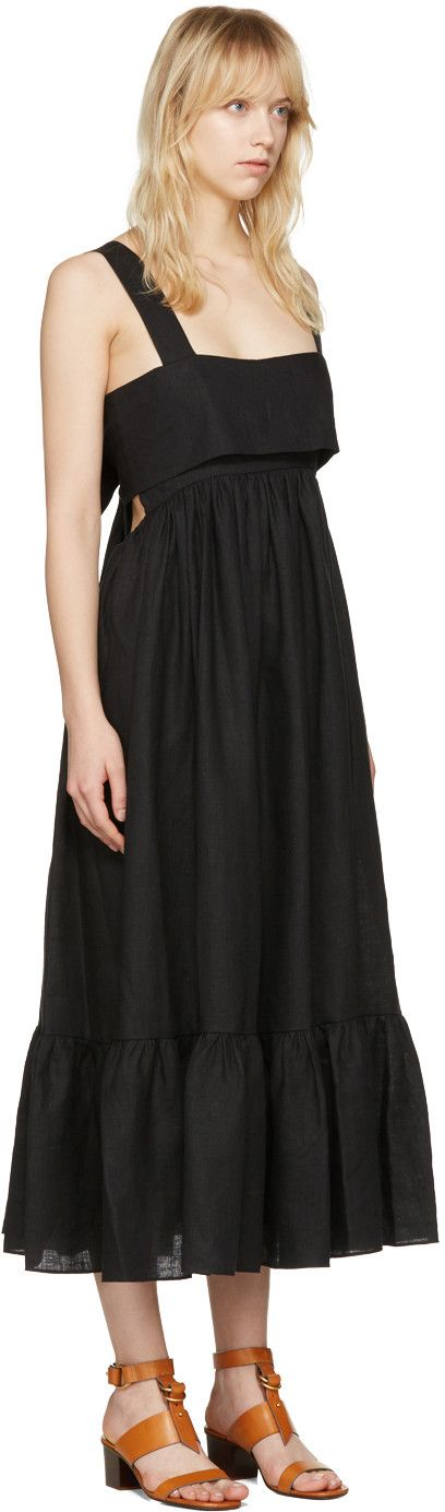 Chloé - Black Bow Back Dress