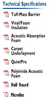 Soundown - Barrier Acoustic Insulation, Carpet Underlay, Acoustic Absorption Materials