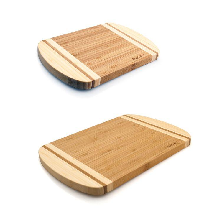 BergHOFF Bamboo Chopping Board Set (Natural), Brown (Wood)