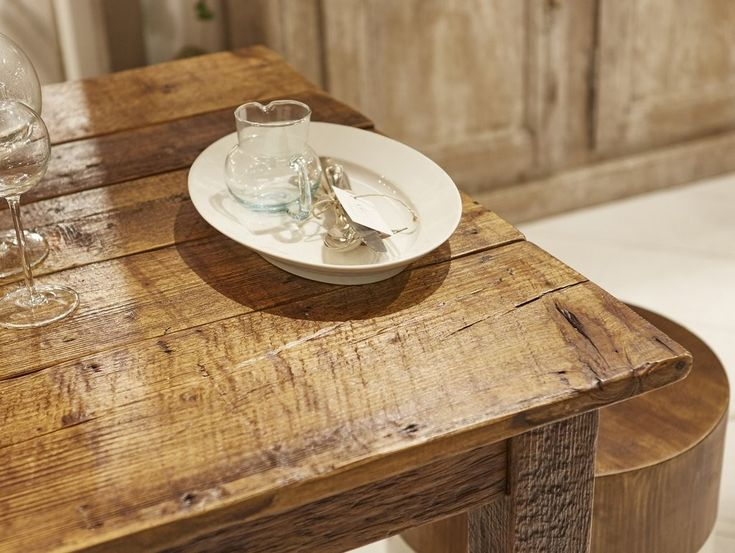 Distressed Antique Farm Table in Chestnut - Available in 4 Different Sizes